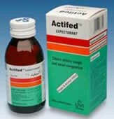 Actifed Plus Expectorant 120ml