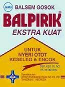 Balsem Balpirik Kuning
