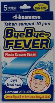 Bye Bye Fever Child 5cmx11cm